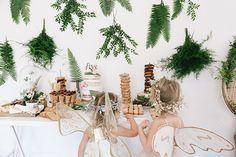 Una fiesta infantil inspirada en un cuento de hadas