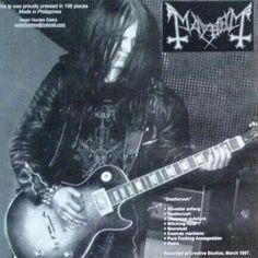 Euronymous (Oystein Aarseth)