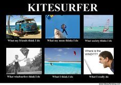 What i think i do #kitesurfen