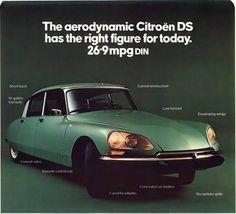 Citroën Cars Ltd - DS advertisement 1973