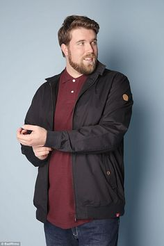 76914ca20da8 IMG signs its first plus-size male model. Chubby Men FashionLarge ...