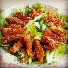 Chef Leziz: Çıtır Tavuklu Salata