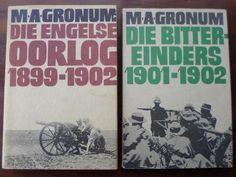 Books - DIE ENGELSE OORLOG 1899-1902 & DIE BITTEREINDERS 1901-1902   M.A. Gronum