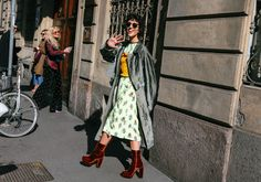 Yasmin Sewell | street style | fashion trends | print and pattern inspiration | Polychrome
