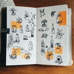 Art inspiration drawing ideas sketchbooks doodles Ideas for 2019 Art Inspo, Kunst Inspo, Sketchbook Inspiration, Bullet Journal Inspiration, Art Journal Inspiration, Sketchbook Ideas, Sketchbook Tumblr, Journal Ideas, Art Sketches