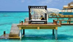 Angsana Velavaru: The InOcean Villas sit more than a half-mile out in the ocean, on the edge of the reef. #Maldives