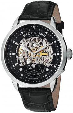 Stuhrling Original 133.33151 Symphony Aristocrat  Automatic Skeleton Watch For Men
