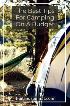 With all the gear and travel involved, camping can also be quite expensive. However, it's more than possible to do camping on a budget. Here are 21 money saving ideas to help you plan your next camping trip. #camping #budgetcamping #savingmoney Camping Checklist, Camping Tips, Fun Outdoor Activities, Hiking Quotes, Hiking Essentials, Hiking Photography, Hiking Tips, Get Outdoors, Family Camping