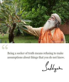 Mystic Quotes - A Daily quote from Sadhguru to start the day Spiritual Thoughts, Spiritual Quotes, Wisdom Quotes, Life Quotes, Inspiring Quotes About Life, Inspirational Quotes, Truth Meaning, Mystic Quotes, Osho