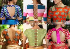 Latest saree blouse patterns best blouse cutting and sching new blouse designs 2019 maggam work lehenga blouse designs Blouse Front And Back Side Neck Designs Stunning Maggam Work … Latest Blouse Neck Designs, Latest Saree Blouse, Simple Blouse Designs, Saree Blouse Neck Designs, Stylish Blouse Design, Back Neck Designs, Lehenga Designs, Mary Janes, Blouse Designs Catalogue