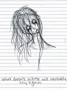 Image Source http://galleryhip.com/creepy-drawings-ideas.html