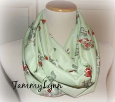 READY to Ship  VINTAGE Light Green with Red by tammylynnscreations, $16.00