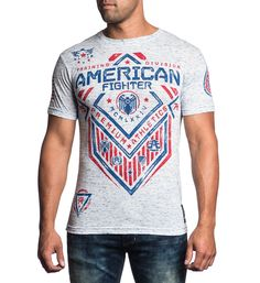 American Fighter by Afflcition North Dakota Artisan Tee Shirt American Fighter, Tee Shirts, Tees, North Dakota, Artisan, Mens Tops, How To Wear, Clothes, Products