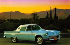 Ford Thunderbird 1957 - 40s & 50s American Cars.