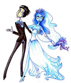 Victor & Emily - corpse-bride Fan Art