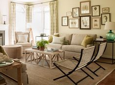 Maryland Coastal - contemporary - living room - dc metro - Lauren Liess Interiors