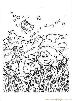 Rainbow Brite - 999 Coloring Pages | coloring pages | Pinterest ...