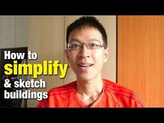 How to Simplify and Sketch Buildings (Art Tutorial) - YouTube
