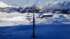Dimanche ensoleillé sur les pistes de ski du Dévoluy.