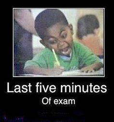 This reminds me of when my buddy Bren and I took the ISO 9001:2008 exams!  Lol