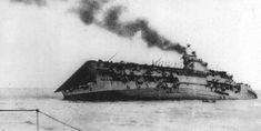 The Norwegian Operation and the Torpedo Crisis - HMS Courageous sinking after U-29's torpedo hits