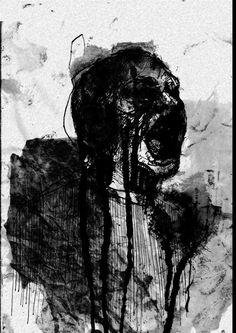 Aesthetic Drawing, Aesthetic Art, Aesthetic Painting, Horror Drawing, Horror Art, Dark Art Illustrations, Illustration Art, Anger Art, Ideas
