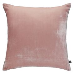 REGENCY Pink velvet cushion 45 x 45cm | Buy now at Habitat UK