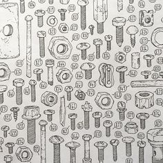 ..part of Lee John Phillips' illustration project to document all the 100,000+ objects in his late grandfather's shed..