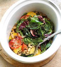 Vegetable casserole in a crockpot!