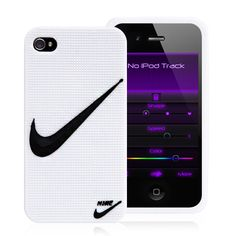 "Nike Brand Logo iPhone 4 Case White Silicone Case Cover "" Just Do it "" Iphone 4 Cases, Iphone 4s, Cheap Iphones, Sports Logo, Just Do It, Smartphone, Apple Case, Discount Price, Girly Girl"
