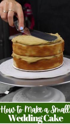 Make Your Own Wedding Cakes, Cool Wedding Cakes, Fun Baking Recipes, Cake Recipes, Dessert Recipes, Wedding Cake Guide, Cupcake Cakes, Cupcakes, Buzzfeed Tasty