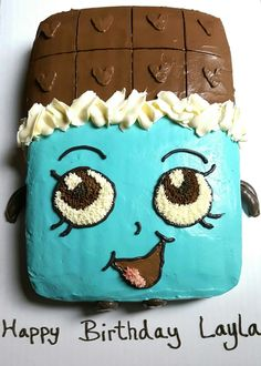 Shopkins Cheeky Chocolate Cake