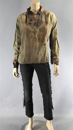 BLACK SAILS ANNE BONNY CLARA PAGET SCREEN WORN PIRATE COSTUME EP 406 (Bloody)