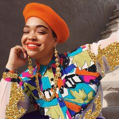 Model, Stylist, and Artist Jaraé Holieway Shows Us How to Wear a Beret Like a Badass This Spring Hats For Short Hair, Short Hair Outfits, Outfits With Hats, Short Hair Styles, Hair Beret, Beret Outfit, 90s Inspired Outfits, Really Cute Outfits, Winter Outfits Men