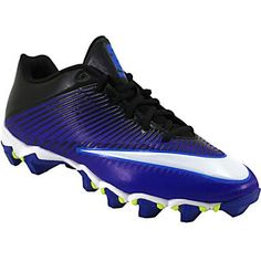 46f5310a8 Nike Vapor Shark 2 Football Cleats - Mens Black Metallic Silver Anthracite  Rogan s Shoes