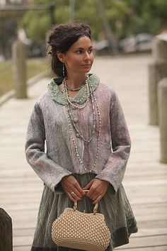 Muster für nahtlose Filz Jacke Mother of Pearl von IrenaLevkovich