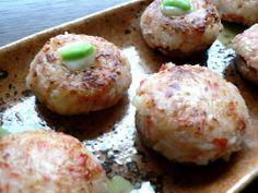 Shiitake Mushrooms Stuffed with Crabsticks