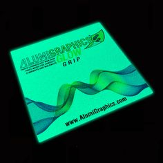 "AlumiGraphics® Glow Grip is a ""glow-in-the-dark"" foil-based print media for rigid surfaces ideal for indoor & outdoor floor graphics applications Outdoor Life, Indoor Outdoor, Floor Graphics, Outdoor Flooring, Vinyl Flooring, Terrazzo, Stairways, The Darkest, Concrete"