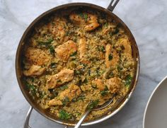 Skillet Chicken with Mexican Green Rice