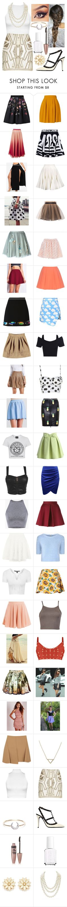 """""""0265"""" by doglover43 ❤ liked on Polyvore featuring Ted Baker, RED Valentino, Moschino, Yufash, Alice + Olivia, Boutique Moschino, Chicnova Fashion, Charlotte Russe, Love Leather and Chicwish"""