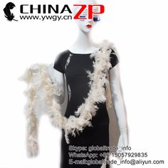 CHINAZP Factory Exporting 2yards/lot Good Quality 40G Fluffy Decoration Feather Turkey Boas Various Colors for Your Choice