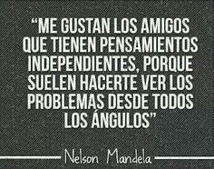 Nelson Mandela  #palabras #amor #vida