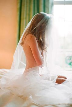 Bridal Sexy Photo Ideas For Groom Eyes Only #bride #sexybride #bridalveil