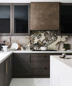 Kitchen Hoods, New Kitchen, Kitchen Decor, Kitchen Designs, Kitchen Ideas, Walking On Glass, Townhouse Designs, Interior Architecture, Interior Design
