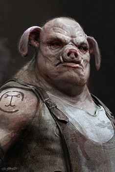Pig Man by JSMarantz.deviantart.com on @DeviantArt