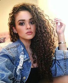 Madison pettis curly hair
