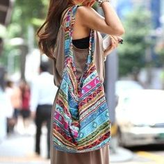 Buy 'REDOPIN � Tribal Print Hobo Bag' at YesStyle.com plus more South Korea items and get Free International Shipping on qualifying orders.