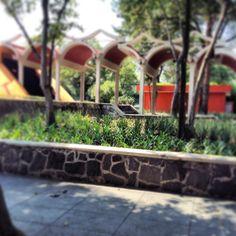 Jardín exterior. #MHNCA #CDMX