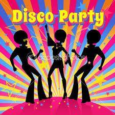 Resultado de imagen para cartel para decorar fiesta tematica disco