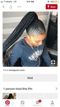 What are the box braids? We braid hair since the dawn of time, so we found traces of braided hairstyles dating back to Prehistory! After a dazzling comeback in the the fashion of braids (or rather mats) does not seem… Continue Reading → Feed In Braids Ponytail, Cornrow Ponytail, Braided Ponytail Hairstyles, Braided Hairstyles For Black Women, My Hairstyle, Scalp Braids With Weave, Weave Cornrows, Bob Box Braids Styles, Braid Styles